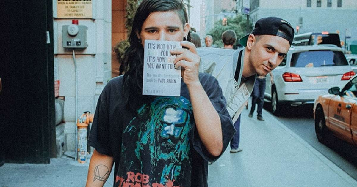 Skrillex and Boys Noize drop rhythmic dub mix of 'Midnight Hour'Skrille