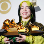 Recording Academy disbands Grammy nomination review committees03 Billie Eilish Grammy Press Room 2020 Billboard 1548