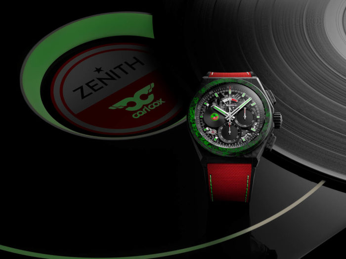 Zenith designed a limited Carl Cox-inspired watch that'll set you back nearly $20,00010 9001 9004 99 R941 Zenith Defy 21 Carl Co Edition 2