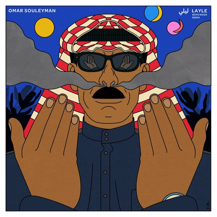 Boys Noize adds techno torrent to Syrian singer Omar Souleyman's 'Layle'Layle Boys Noize Remi