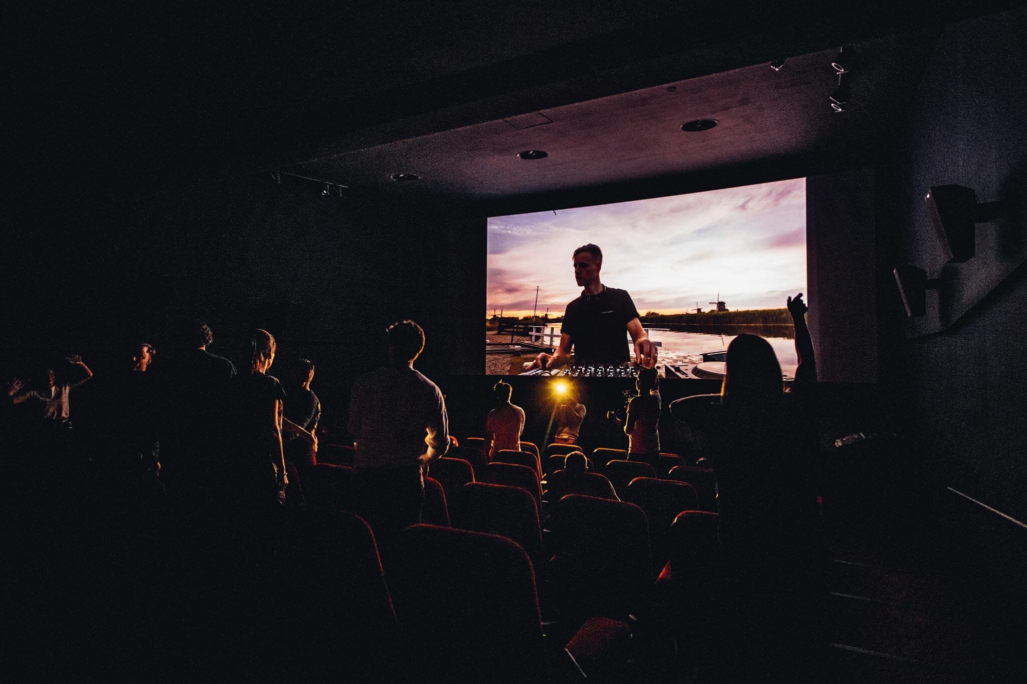 Audio Obscura ushers live music into Dutch cinemas with the Revere Series [Stream]Audio Obscura Dancing Astronaut Revere Series