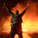 Kanye West appears to walk on water during latest Sunday Service [Watch]Kanye 1