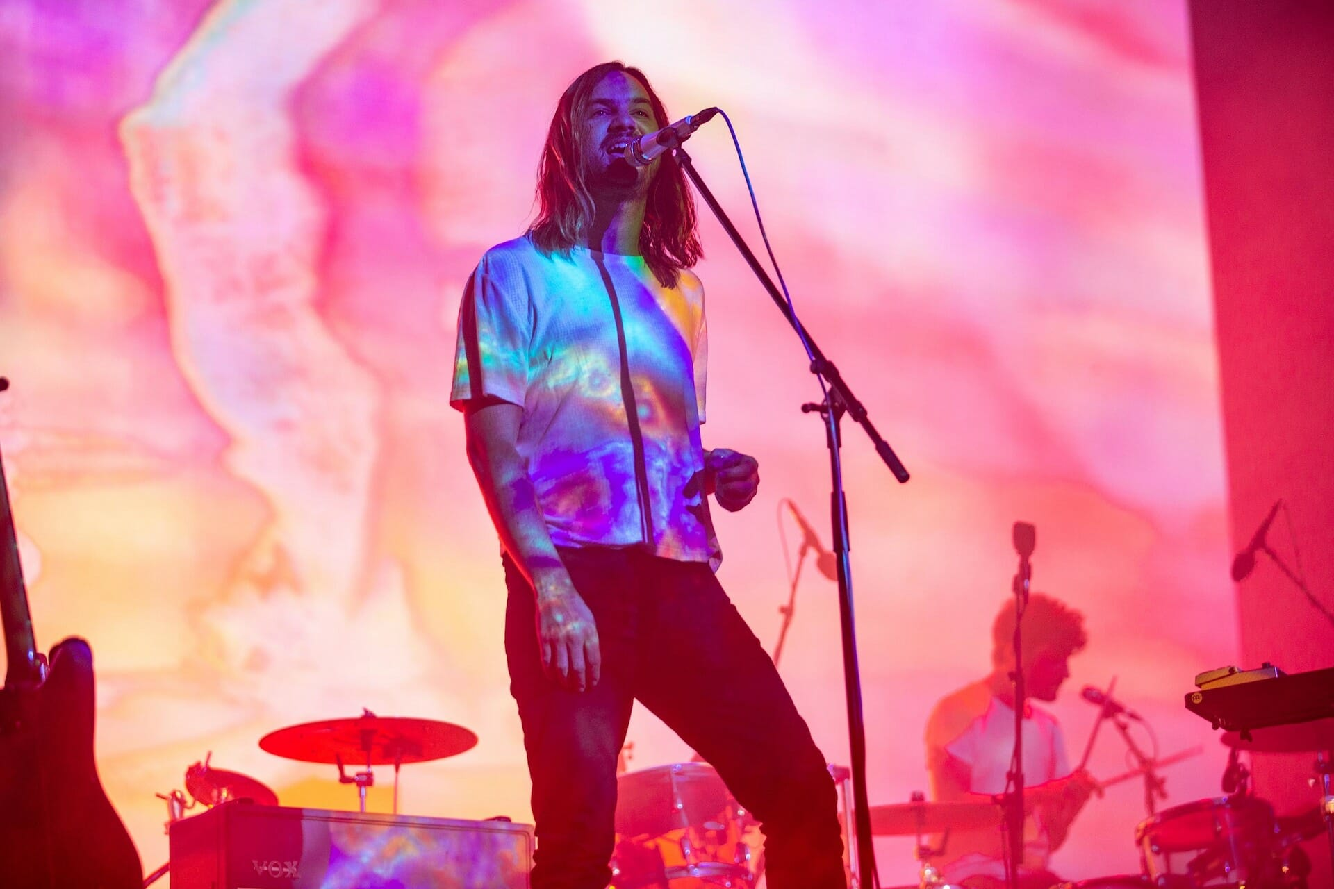 Watch Kevin Parker bring 'Tame Impala Soundsystem' to 'The Tonight Show'Tame Impala O2 2019 Emma Swann