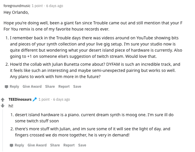 10 takeaways from Totally Enormous Extinct Dinosaurs' Reddit AMAScreen Shot 2020 11 30 At 4.59.37 PM